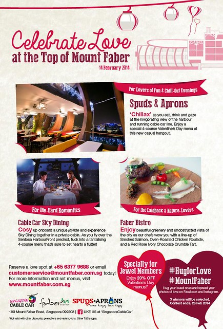 Mount Faber dining