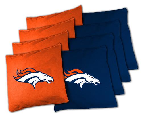 Denver Broncos Cornhole Bags