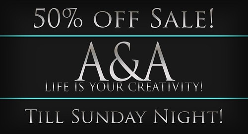 ::A&A:: 50% Sale until 2-23-2014 by Alliana Petunia