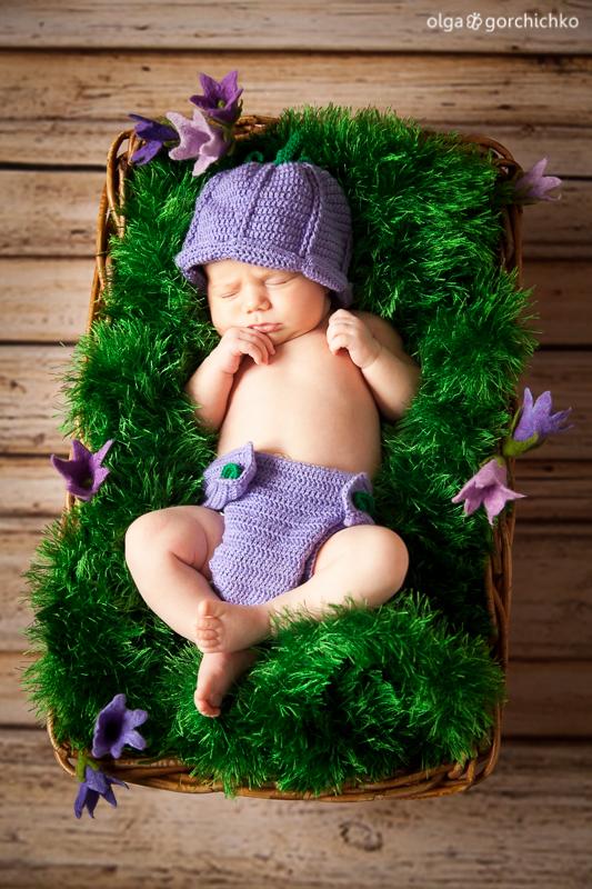 newborn baby Yuliya