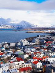 Above Reykjavik