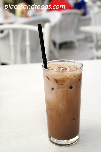 swich cafe ice chocolate