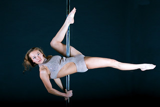 Olga, incredible pole