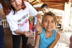 Semana de Vacunación en las Americas 2014 - Paraguay