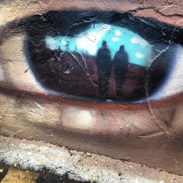 #love this #streetart in #hamtramack #detroit #graffiti close up #4