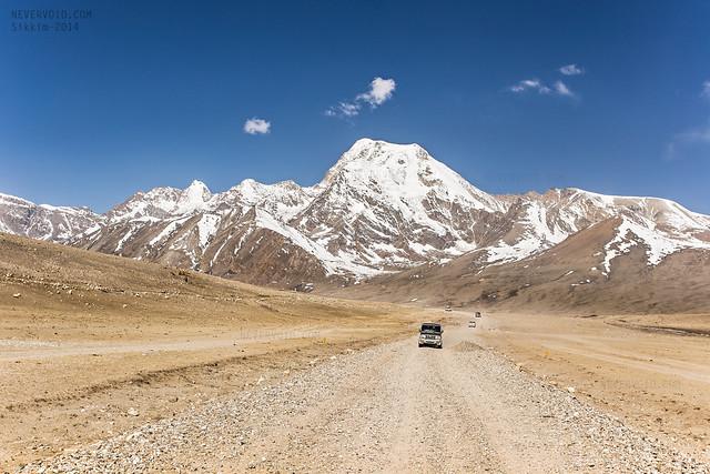 Roads to Gurudongmar Lake, Sikkim