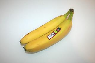 12 - Zutat Banane / Ingredient bananas