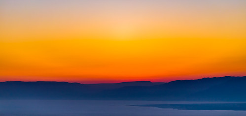 red sea sun color yellow sunrise dead israel deadsea