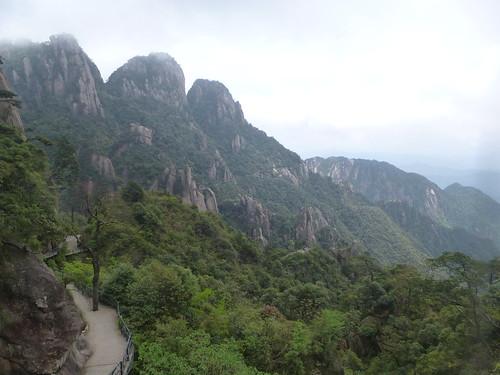 Jiangxi-Sanqing Shan- 2 sentier de l'ouest (4)