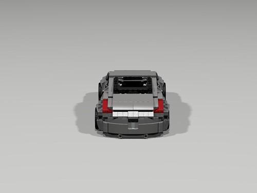 Lego Nissan 350Z - rear