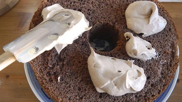 Chocolate Chiffon Cake 22