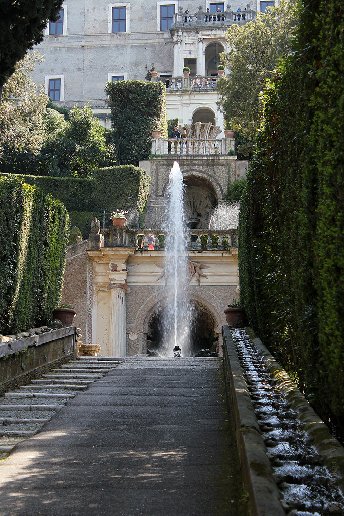 Villa d'Este (villa in Tivoli). Вилла д'Эсте (Вилла Тиволи)