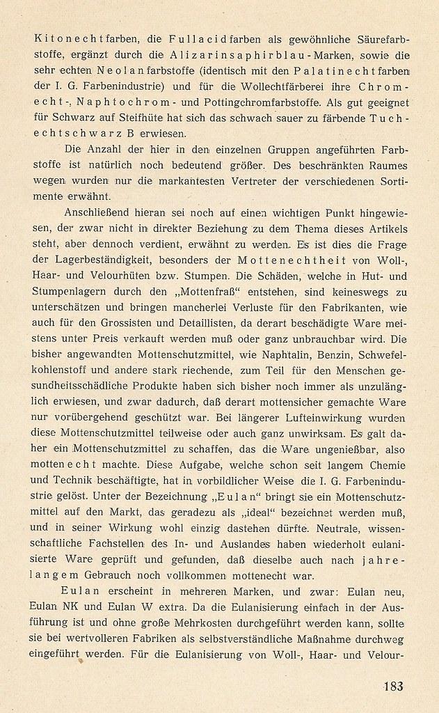 Fabrikation von Damen- und Herren- Filzhüten, Der Deustchen ...