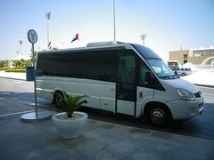 Yas Island shuttle bus