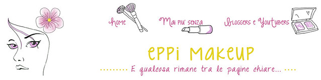 header di Eppi makeup, blog design per blogger, blog design by alex b