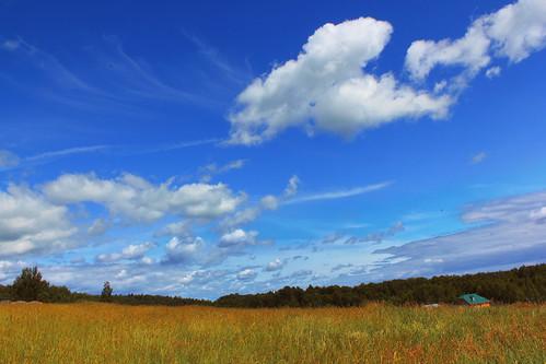 clouds landscape russia
