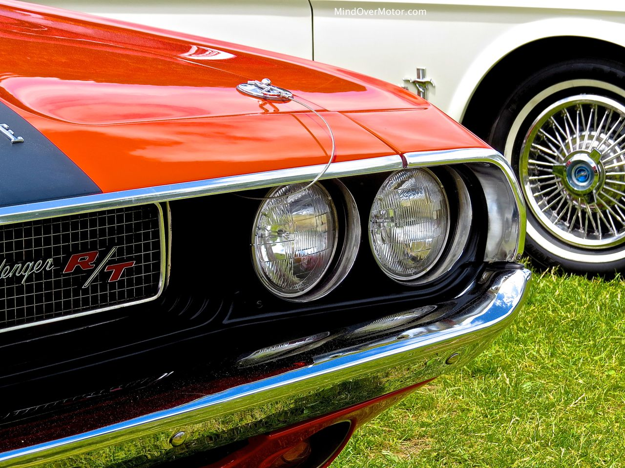 1970 Dodge Challenger R:T Convertible Headlights