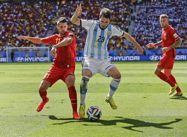 Brazil Soccer WCup Argentina Belgium