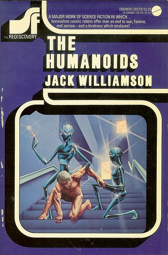 The Humanoids - Jack Williamson - cover artist Michael Presley