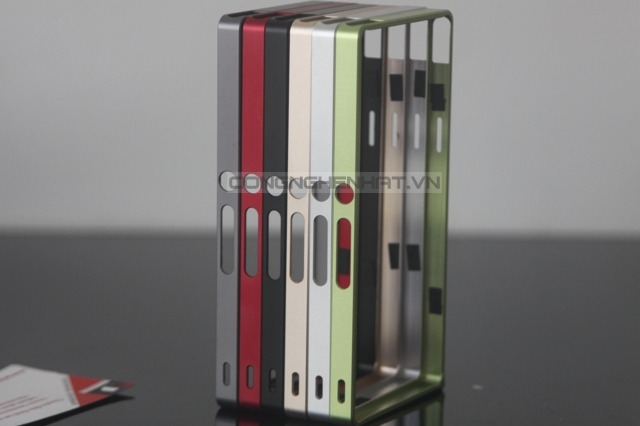 Ốp viền Sony Xperia Z Aluminum - khóa ốc