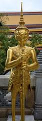 Golden Statue at Wat Phra KaewGolden Temple - Bangkok