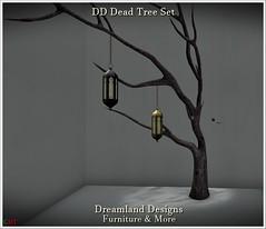 DD Dead Tree Set Vendor