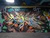 Astek graffiti, Southbank