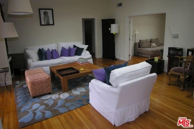 Дизайн зала в доме Вина Дизеля