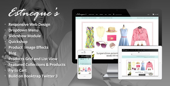 Clothing Store Shopify Theme – EstNeque v1.0