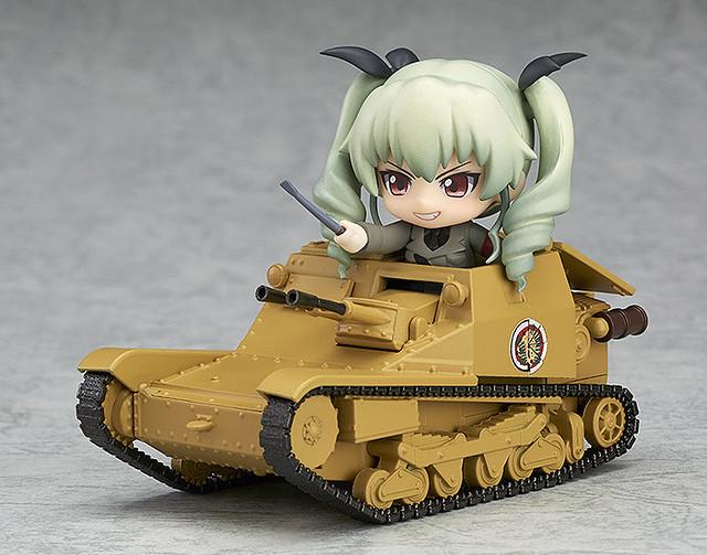 這就是安齊奧的實力!《少女與戰車》黏土人配件系列  CV33型快速戰車(L3/33)