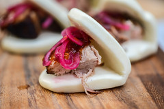 Barbecue Pork Belly Buns