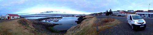 northeasticeland vopnafjörður nissannv200 harbour panorama