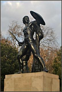 Image of George III. london 2016 december statue achilles hydepark sirrichardwestmacott