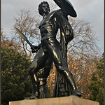 George III 的形象. london 2016 december statue achilles hydepark sirrichardwestmacott