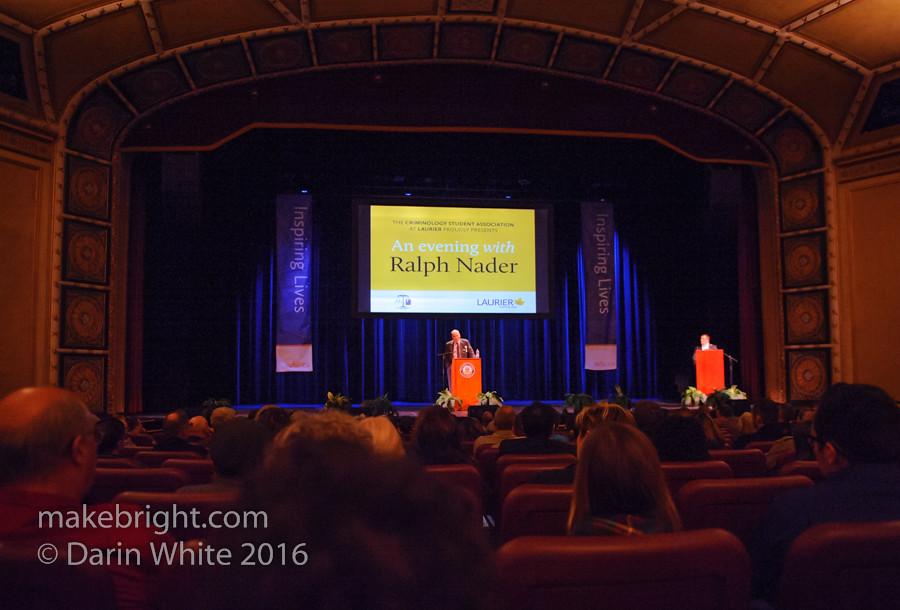 Ralph Nader in Brantford - Nov2016 011