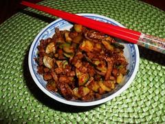 Zucchini-Rindfleisch