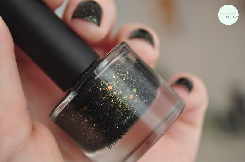 NOTD urban outfitters WIP W.I.P supernova nail polish rottenotter rotten otter blog 2