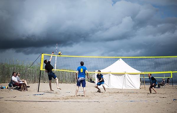 Halycon Days  - Beach Volleyball - West Sands St Andrews Fife Scotland