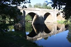 Ponte romana sobre o rio Tuela em Torre de Dona Chama, Mirandela