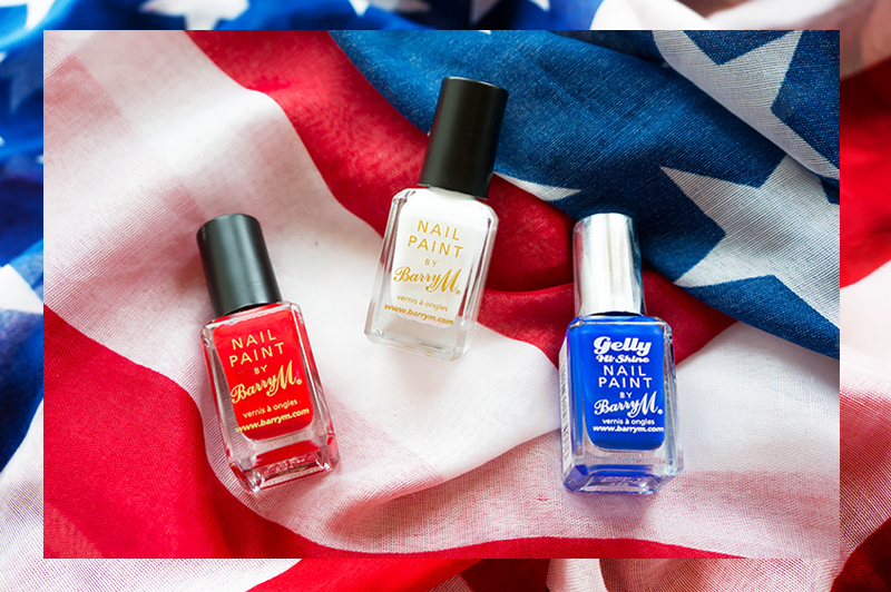 July 4th Nails - 1 | www.latenightnonsense.com