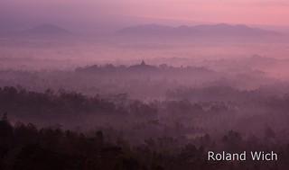 Borobudur at Dawn