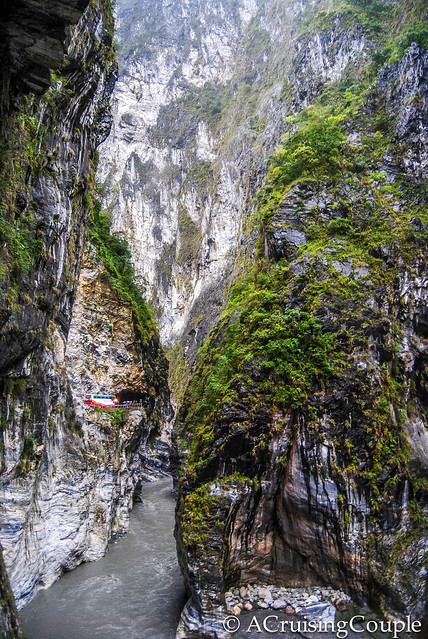 Taroko Gorge Steep Cliffs