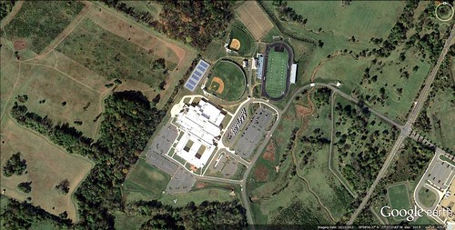 Tuscarora High School, Loudoun County, VA (via Google Earth)
