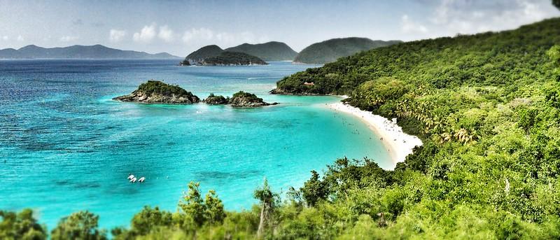 Trunk Bay, St. Thomas, US Virgin Islands