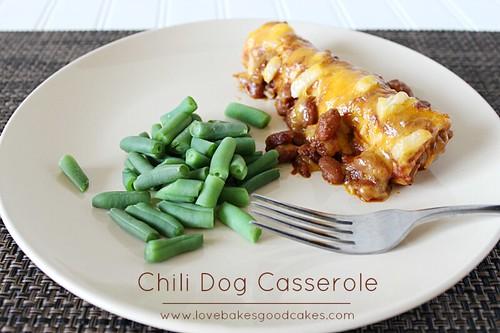Chili Dog Casserole 2