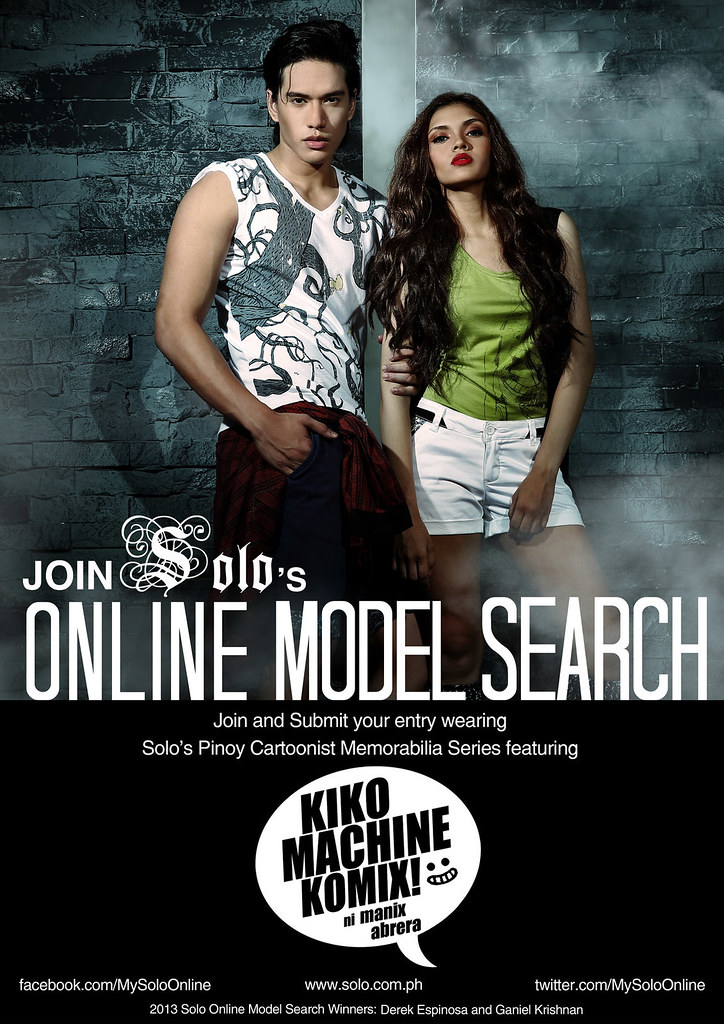 Solo Online Model Search Poster