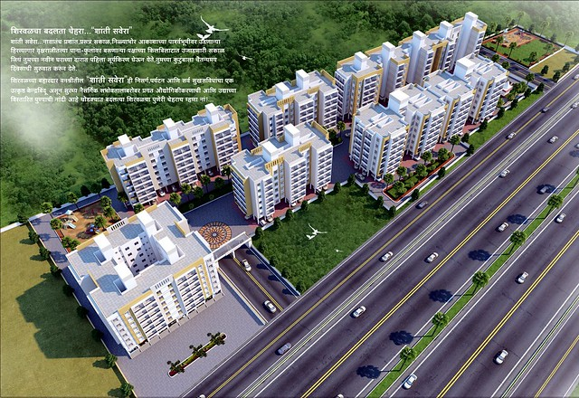 Shanti Savera, 1 BHK & 2 BHK Flats opposite Star City Shirwal, on Pune Bangalore Highway (N H 4) , Taluka Khandala, District Satara, 412801
