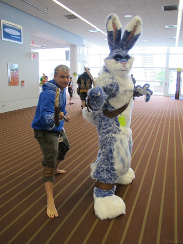 Jack Frost and the Easter Bunny by Coyoty