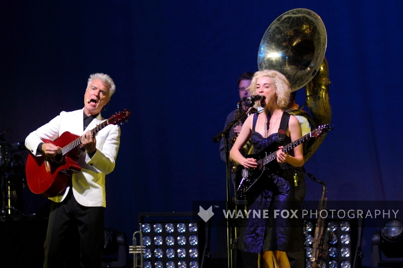 David Byrne and Saint Vincent