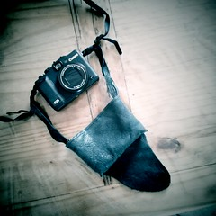 DIY Leather Camera Case for Canon g15